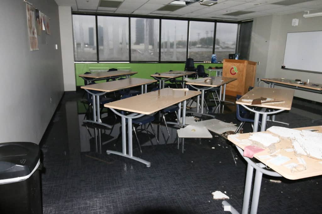 2017 Tornado Damage at Community Care College Classroom