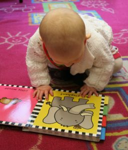 book, baby, child, reading, learning
