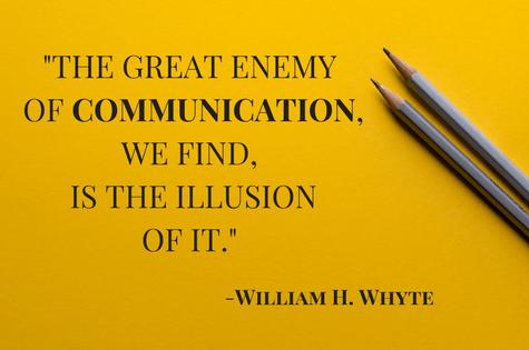 quote, communication