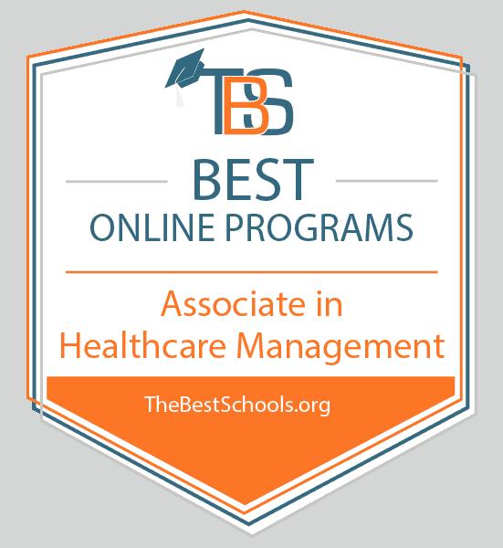 Best Online Programs - Associate in Healthcare Management Award