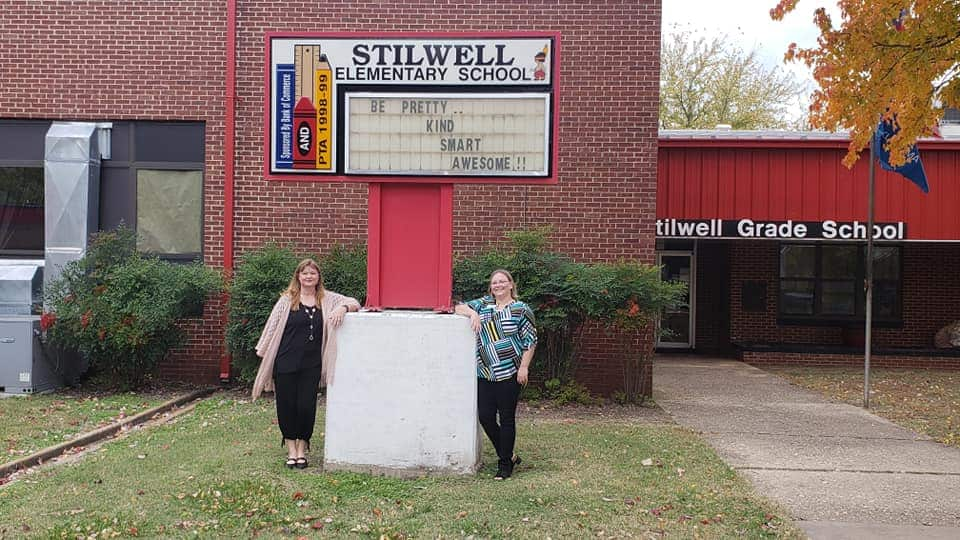 Stilwell Oklahoma Community Care College Giving Gifts back to the community community service volunteering oklahoma