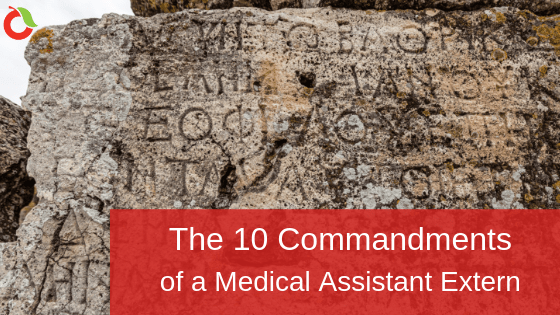 The 10 Commandments of Medical Extern Blog at CCC
